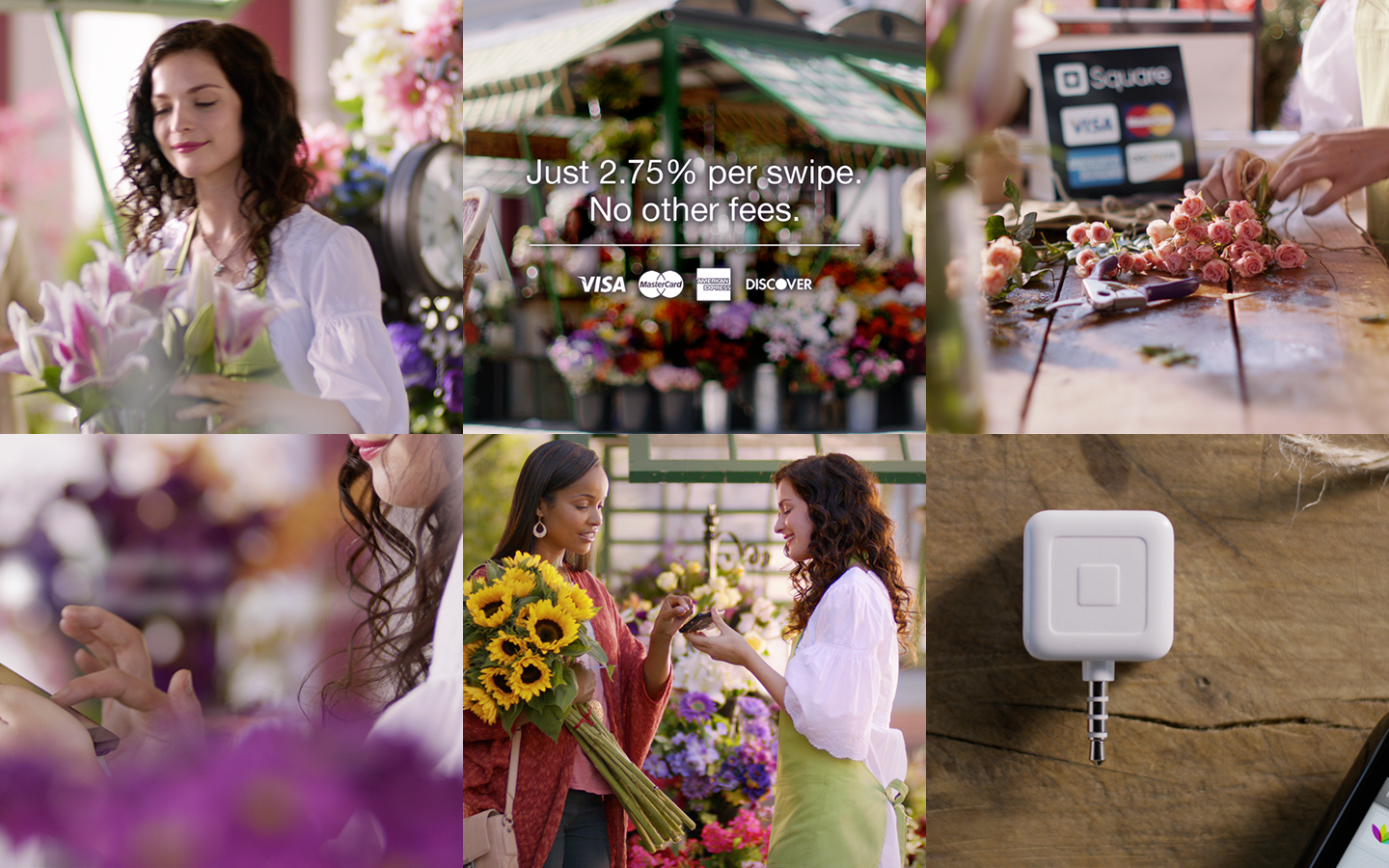 TV Commercial for Square (:30, Florist)
