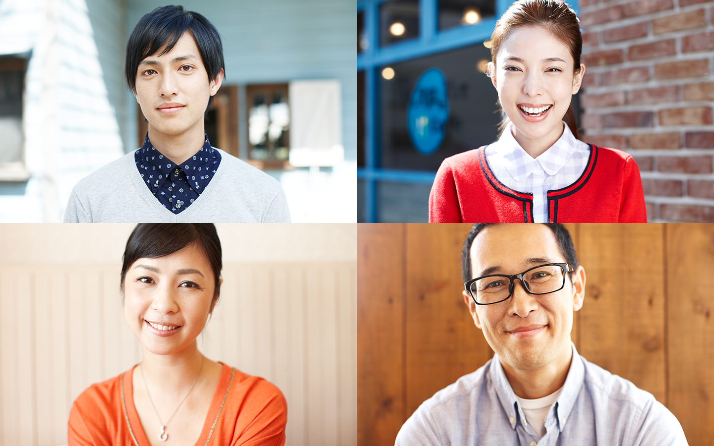 Portraits for Square's Launch in Japan