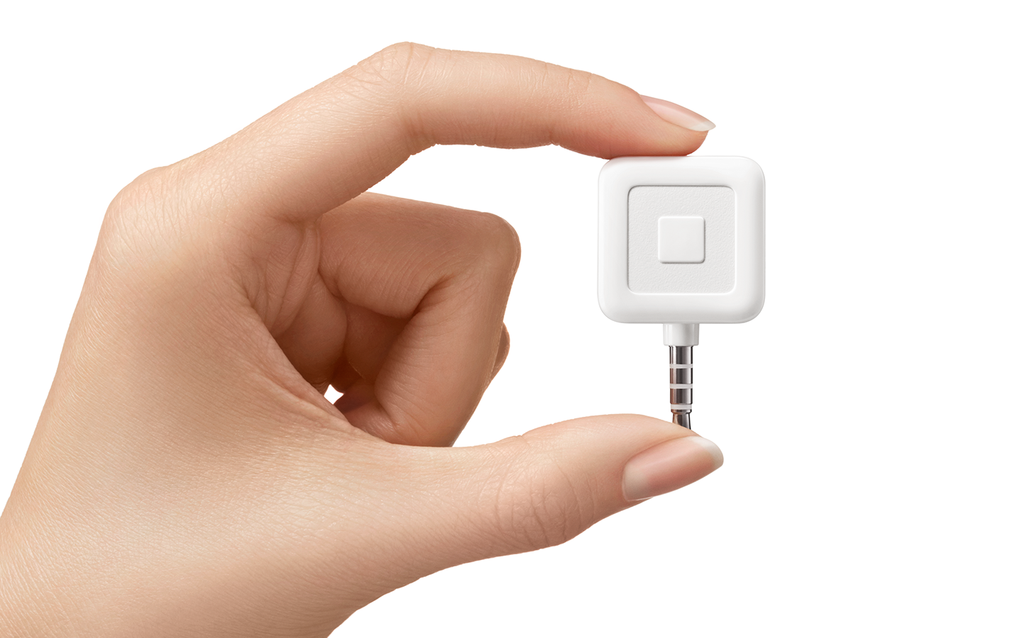 Close-up of the Square Reader